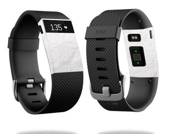Skin Decal Wrap for Fitbit Blaze, Charge, Charge HR, Surge Watch cover sticker Crumpled Paper