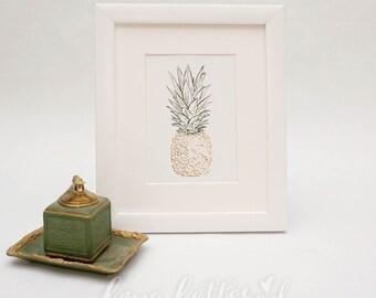 Pineapple  |  Art Print