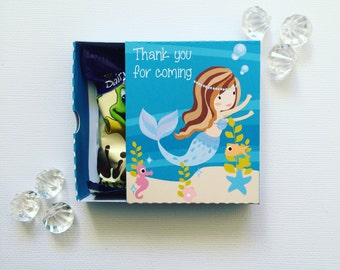 Mermaid matchboxes