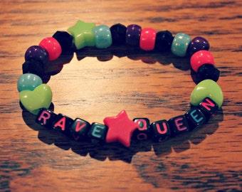 Rave Queen Kandi Bracelet