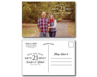 Photo Save the Date Postcard - Wedding Save the Date - Save the Date - Wedding Postcard - Wedding Save the Date Postcard