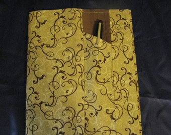 New item!  Fabric covered journal or diary