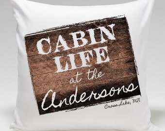 Throw Pillow - Personalized Throw Pillow - Personalized Pillows - Decorative Pillows