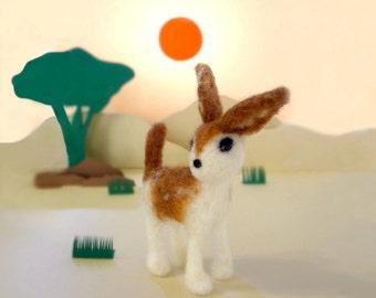 MADE TO ORDER - Needle Felted Sculptures - Whimsical Deer - Miniature Wool Felt Roe Deer