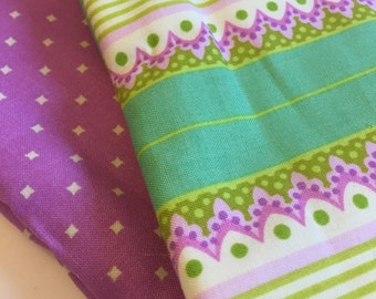 Set of 2 Burp Cloths, SALE 25% OFF (price as marked)