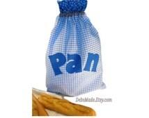 Bread Bag/Keeper. Drawstring Bread Bag/Sack. Bread/Kitchen storage. Loaf Bag. Kitchenware Gift.European/French Style.Bolsa de Pan/Sac à Pain