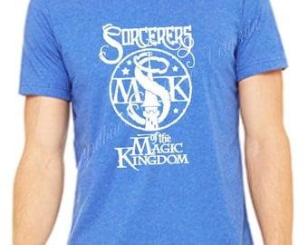 Sorcerers of The Magic Kingdom T-shirts