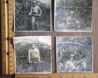Vintage Military Snapshots