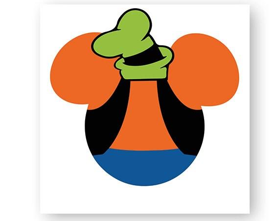 disney goofy icon minnie mouse head icon mickey mouse head