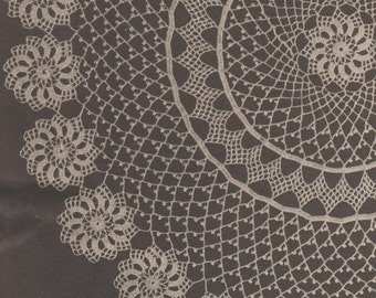 Irish crochet doily pattern vintage 1969 download
