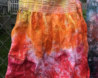 Sunset Dyed Dress
