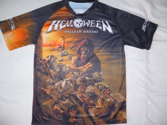 Helloween Walls Of Jericho All Over Print By TshirtWizards