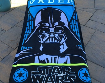 Star Wars Darth Vader Beach Towel - Personalized Beach Towel