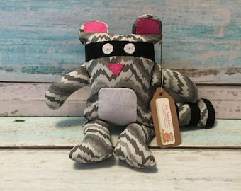 SALE -- Rugar the Raccoon Plush Toy