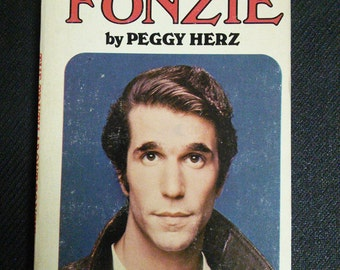 The Truth About Fonzie Happy Days Vintage Book