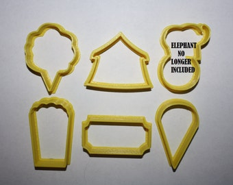 Circus Cookie Cutter Circus Theme Cookie Cutter