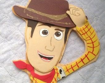 Toy story woody foam figure