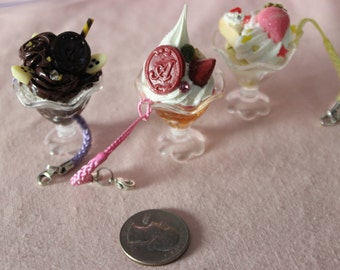 KAWAII Deco Sweets Parfait Charms