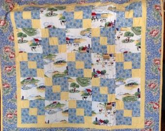 Old MacDonald's Farm Quilt