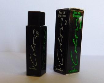 MAN COLORS of BENETTON perfume miniature