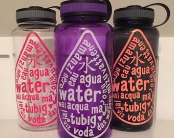 Water H20 Bottle