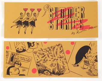 Summer Stories - Riso printed comic book