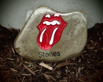 Rolling Stones Garden Stone