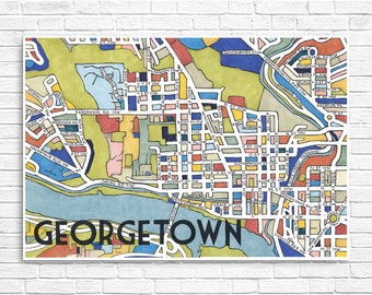 Georgetown Neighborhood Map