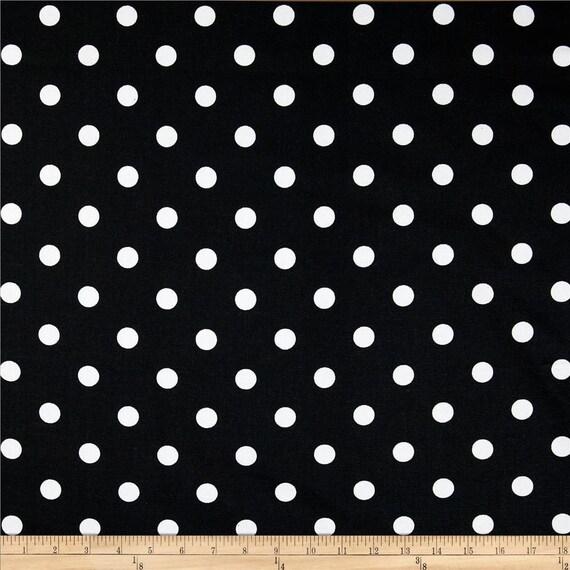 Black polka dot valance polka dot valance black custom valance polka
