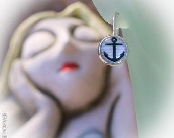 Anchors Away 925 Sterling Silver Earrings