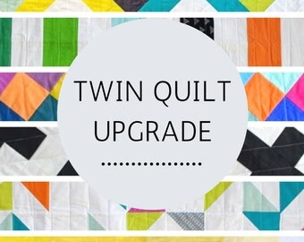 Upgrade Any Quilt to a Twin Size!