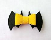 Black Bat Hero Hairbow