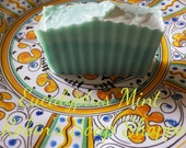 Eucalyptus Mint Soap with essential oils VETERAN OWNED Cold Process soap Handmade Soap Made with LOVE Baby your skin with nourishing oils