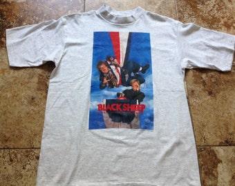 Vtg 90s BLACK SHEEP Chris Farley Large Shirt