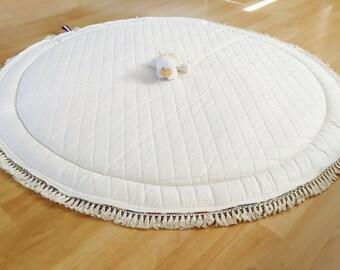 Round Baby Blanket Etsy