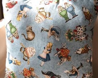 Alice in wonderland cushion