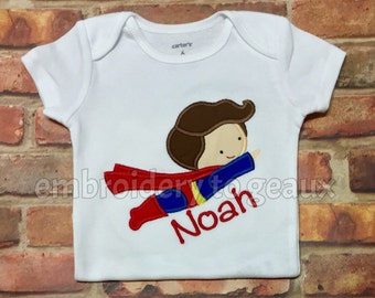 Superhero Bodysuit or Child's T-Shirt, Superhero Shirt for Boys, Superhero Birthday Shirt, Superhero Baby Gift, Superhero Baby Gift