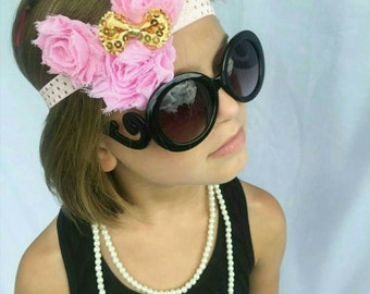 Pink and Gold Minnie Shabby