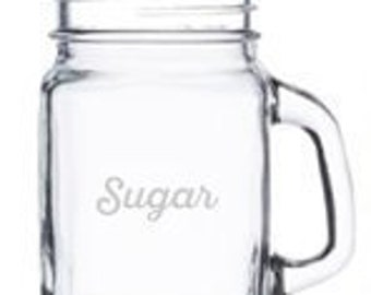 Personalized Mason Jar Shot Glasses - each