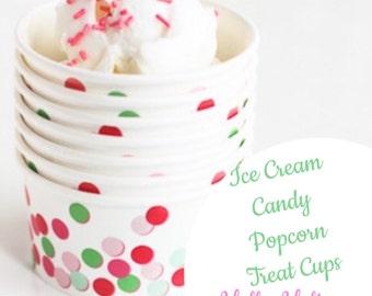 Treat cups - Popcorn, Ice Cream, Candy