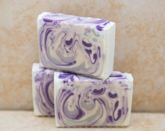 Lavender Soap Organic Natural Soap  Artisan Hungarian Lavender Fields Vegan Gift Soap
