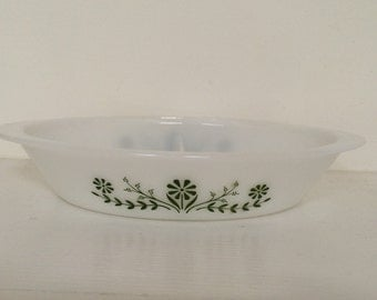 Glasbake Divided Casserole Dish