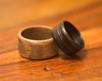 Bentwood Ring - Custom Made to Order