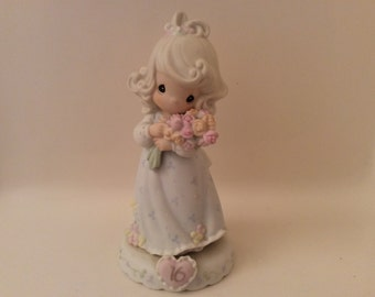"""This is Precious Moments """" Growing In Grace"""" Sweet Sixteen, Enesco Corp."""