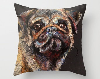 Percy the Pug Pillow