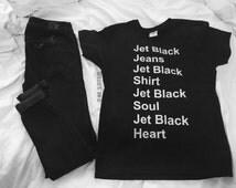 Jet Black t-shirt