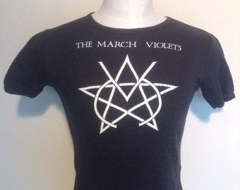 The March violets original vintage 1980's T-shirt