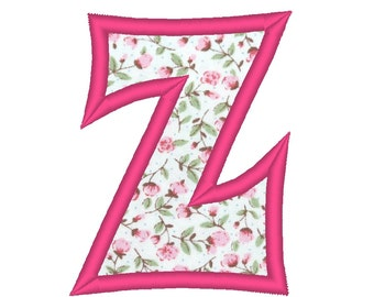 Applique Andy Font machine embroidery applique alphabet, INSTANT DOWNLOAD, sizes 2 and 4 inches BX embroidery included