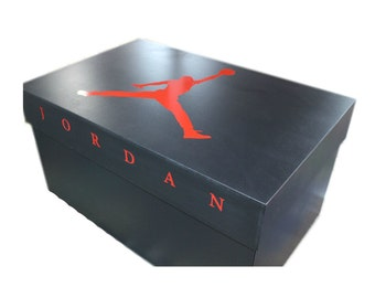 Vinyl Decals and Label for Giant Nike AIR JORDAN or ADIDAS Shoe Box Build