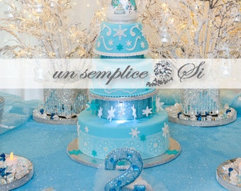 FROZEN THEME Sequin Tablecloth, Sequin Runner, Sequin Overlay , Elsa Party Decor